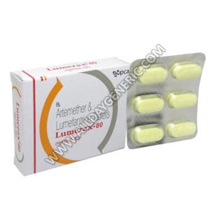 Lumerax 80 mg, Artemether and Lumefantrine, Artemether Lumefantrine