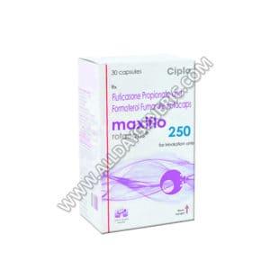 Maxiflo Rotacaps 250 (Formoterol, Fluticasone propionate)