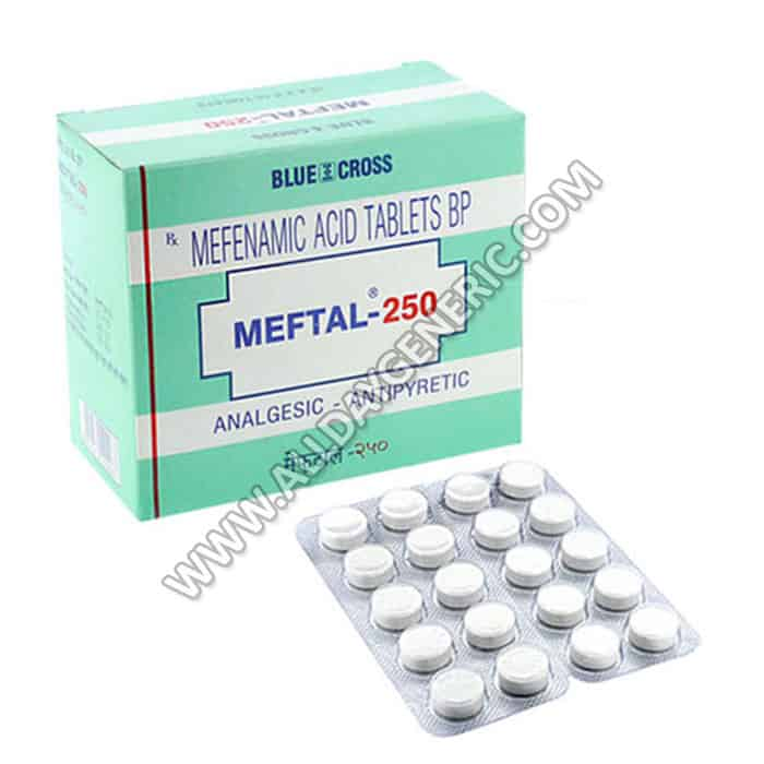 Meftal (Mefenamic acid 250mg)
