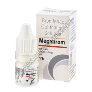 Bromfenac ophthalmic solution (Megabrom Eye Drop)