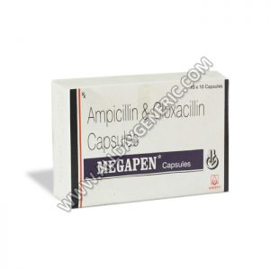 Megapen Capsules (Ampicillin / Cloxacillin)