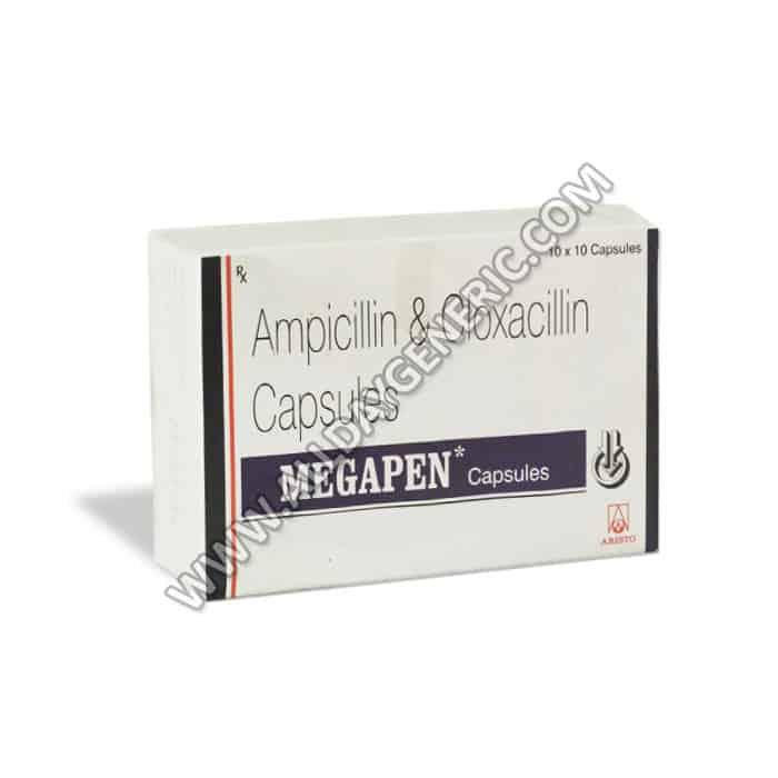Megapen Capsules (Ampicillin / Cloxacillin)