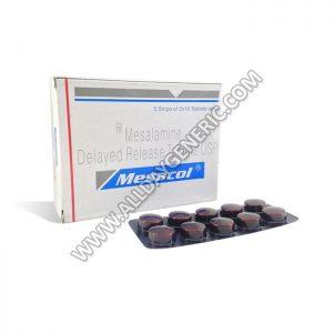 Mesacol, mesalamine generic