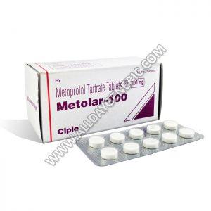 Metolar 100 mg, Metoprolol 100 mg Tablets
