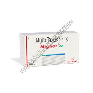 Mignar 50 mg (Miglitol)