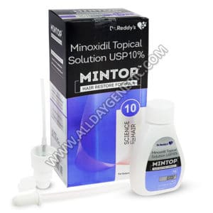 Mintop 10% Solution, Minoxidil Solution