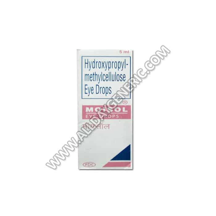 Moisol Eye Drop , Hydroxypropyl methylcellulose uses