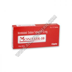 Montair 10 | Montair 10 mg Tablet (Montelukast)