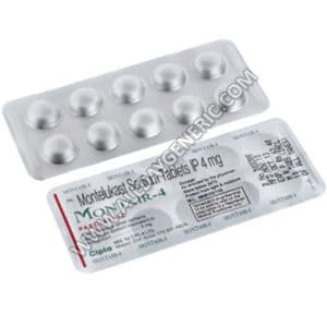 Montelukast Tablet | Montair 4 mg Chewable Tablet (Montelukast)