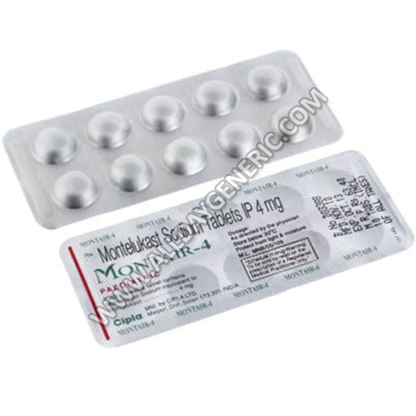 Montair Chewable Tablets 4 mg