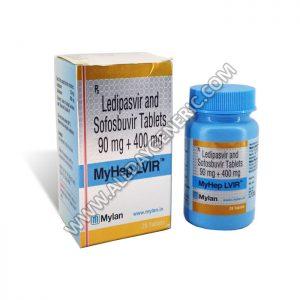 Myhep LVIR (Ledipasvir Sofosbuvir)