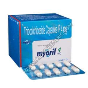 Myoril 4 mg (Thiocolchicoside 4mg)