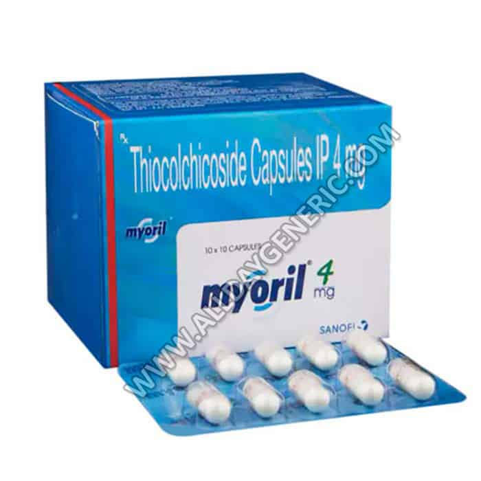 Myoril 4 mg (Thiocolchicoside 4mg)