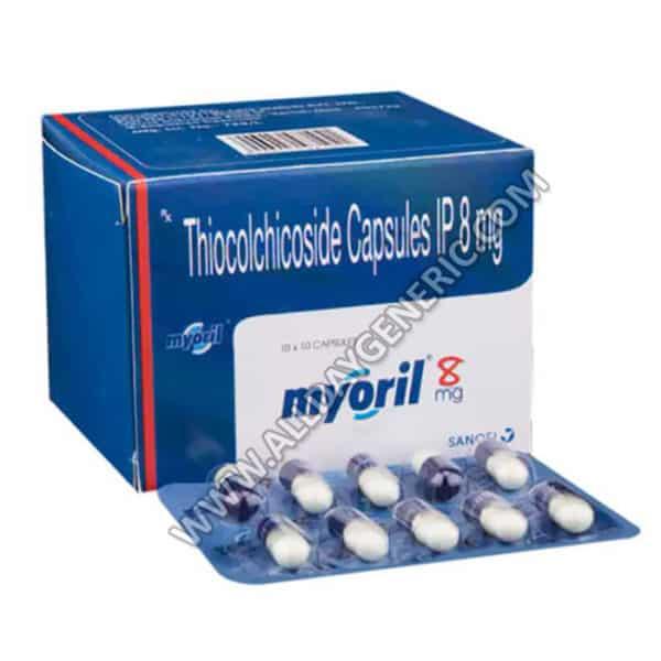 Myoril 8 mg Capsule