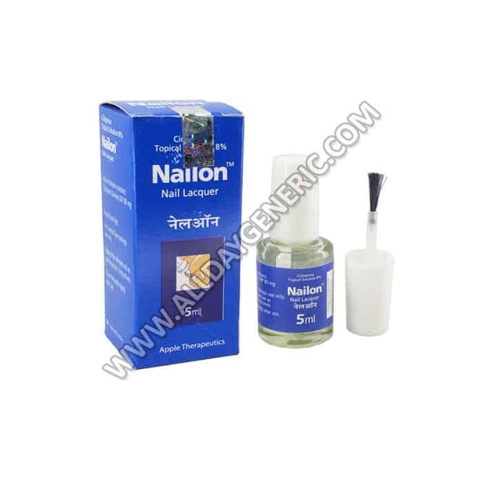 Nailon Nail Lacquer (Ciclopirox)