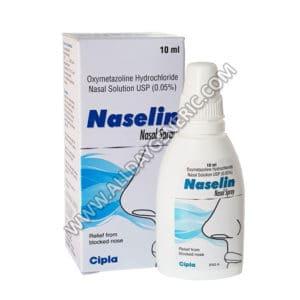 Naselin Nasal Spray (Xylometazoline Nasal Drops)