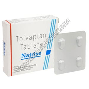 Natrise 15 mg, Tolvaptan 15 mg Tablets