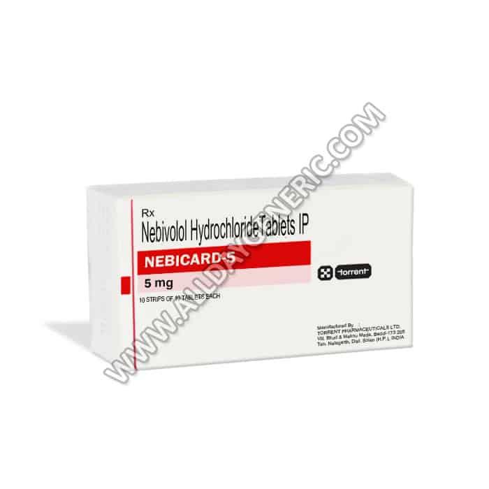 Nebicard 5 mg, Nebivolol 5 mg