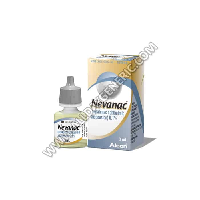 Nevanac eye drops (Nepafenac)