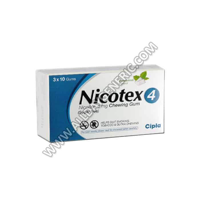 Nicotine uses | Nicotex 4 mg (Nicotine)