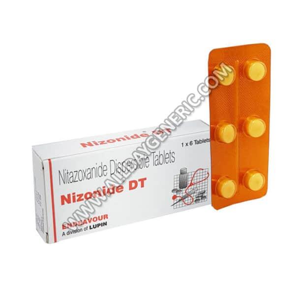Nizonide DT 200 mg Tablet