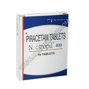 Nootropil 400 mg Tablet, Piracetam,