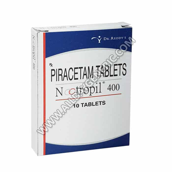 Nootropil 400 mg Tablet, Piracetam,