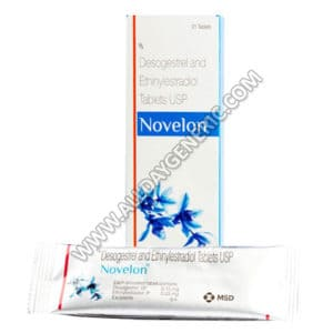 Novelon Tablets, Ethinyl Estradiol / Desogestrel, Birth Control Tablets