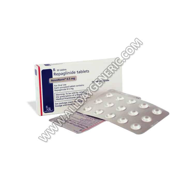 Novonorm-0.5-mg, Repaglinide
