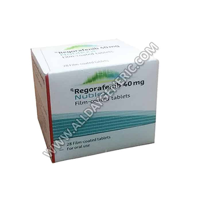 regorafenib (Nublexa 40 mg Tablet)