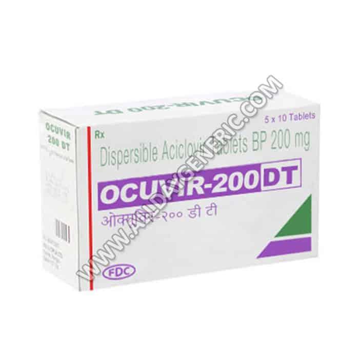 Ocuvir 200 DT, Acyclovir