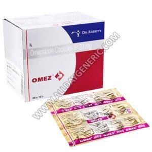 Omez 20 mg, Omeprazole 20mg, Omez