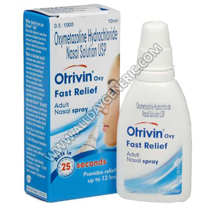 Otrivin Nasal Spray (Xylometazoline Nasal Drops)