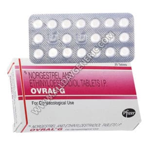 Ovral G, norgestrel and ethinyl estradiol