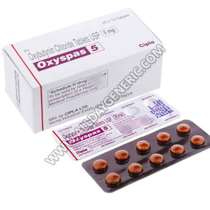 Oxybutynin 5 mg