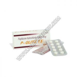 P-Glitz 15 mg (Pioglitazone)