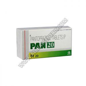 pantoprazol 20 mg, Pan 20 mg, pan 20, Pantoprazole