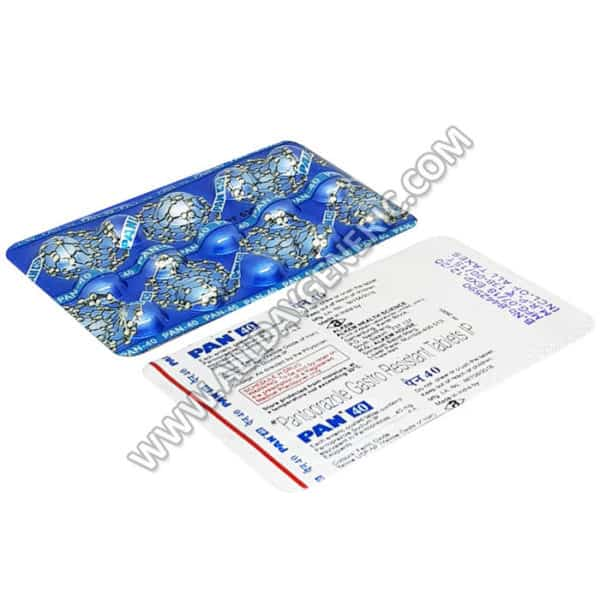 Pan 40 mg Tablet