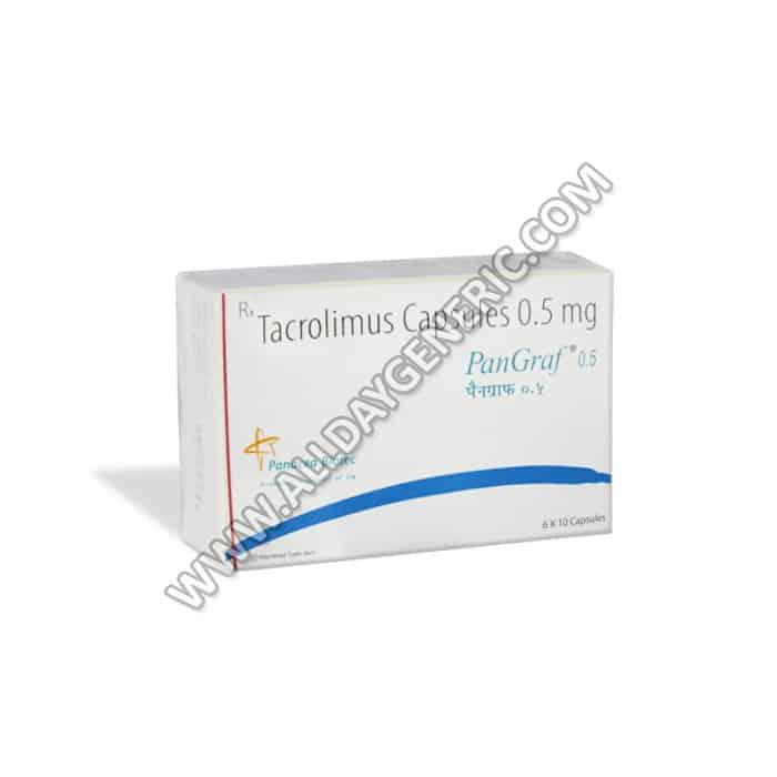 Tacrolimus Capsules, Pangraf 0.5 mg
