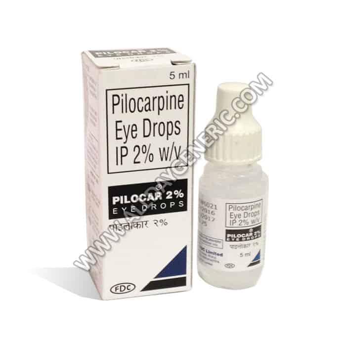 Pilocar eye drops (Pilocarpine)