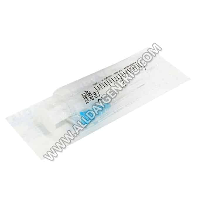 Plastic Syringe with Needle 2ml(Syringe)