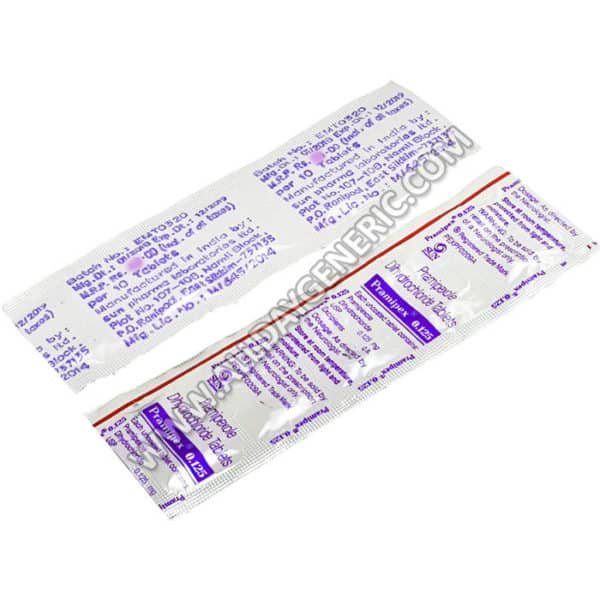 Pramipex 0.125 mg Tablet