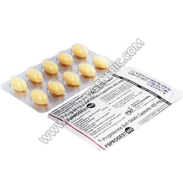 Progesterone 400 mg Capsule