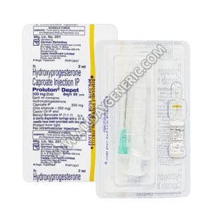 Proluton Depot 500 mg (Hydroxyprogesterone)