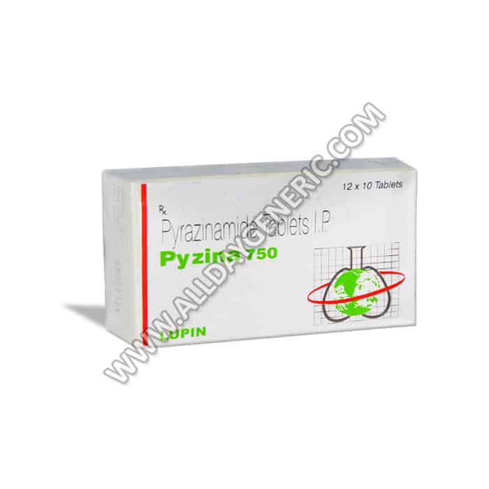 (Pyrazinamide Tablets) Pyzina 750