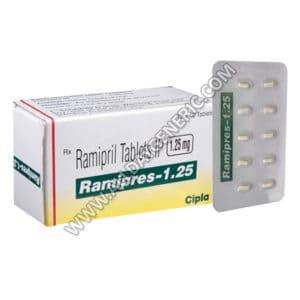 Ramipril | Ramipres 1.25 mg (Ramipril)
