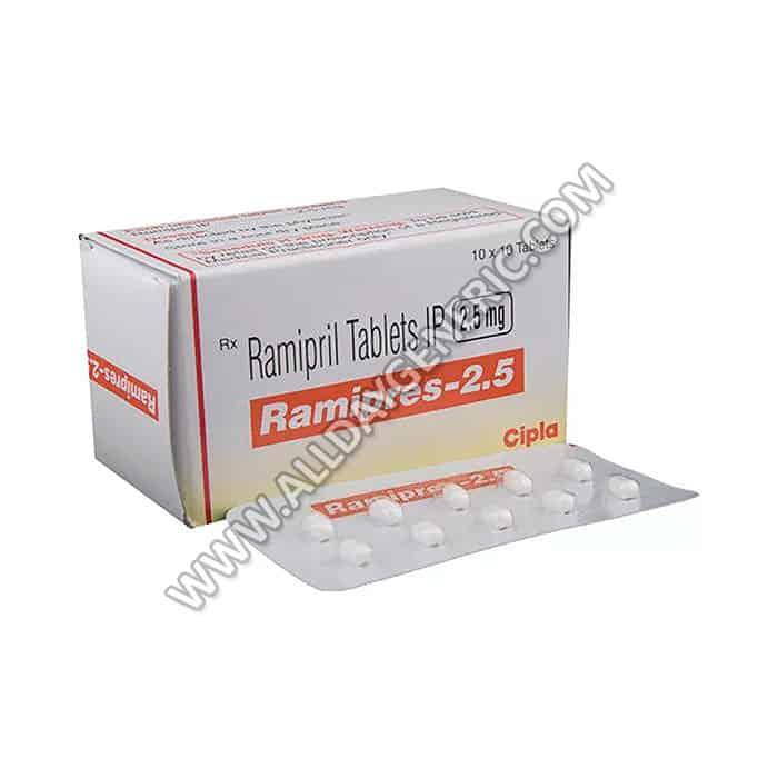 Ramipril 2.5 mg | Ramipres 2.5 mg (Ramipril)