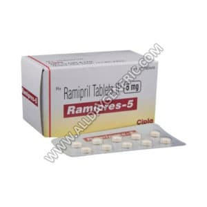 Ramipril 5mg | Ramipres 5 mg (Ramipril)