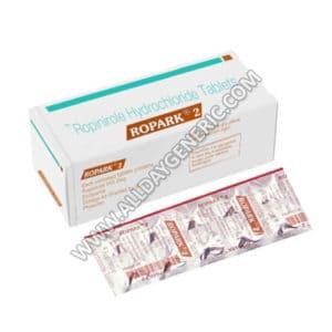 Ropark 2 mg, ropinirole 2 mg