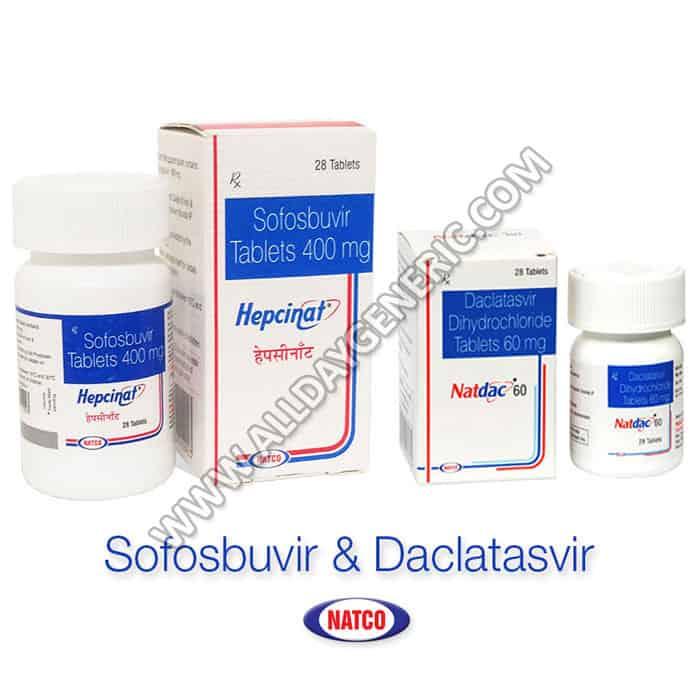 Sofosbuvir Daclatasvir Tablet